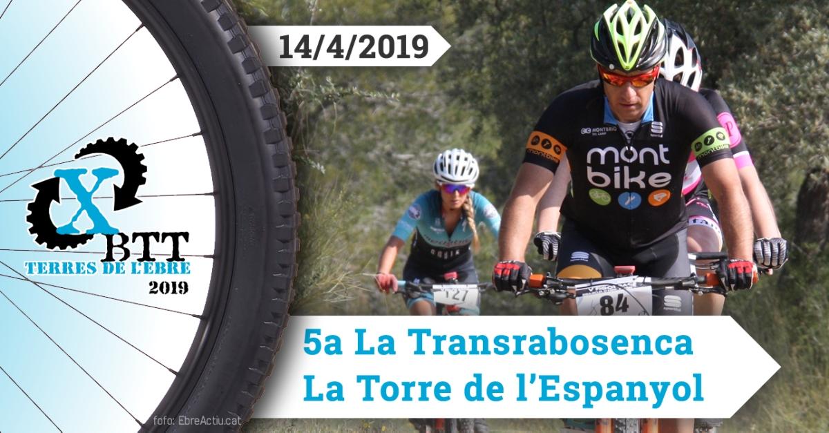 La Transrabosenca - La Torre de l'Espanyol - 14/4/2019