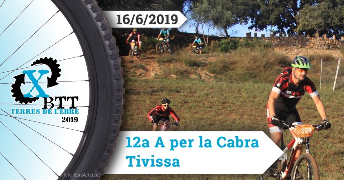 A per la Cabra - Tivissa - 2/6/2019