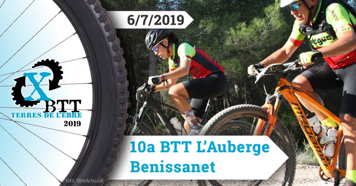 BTT L'Auberge - Benissanet - 6/7/2019