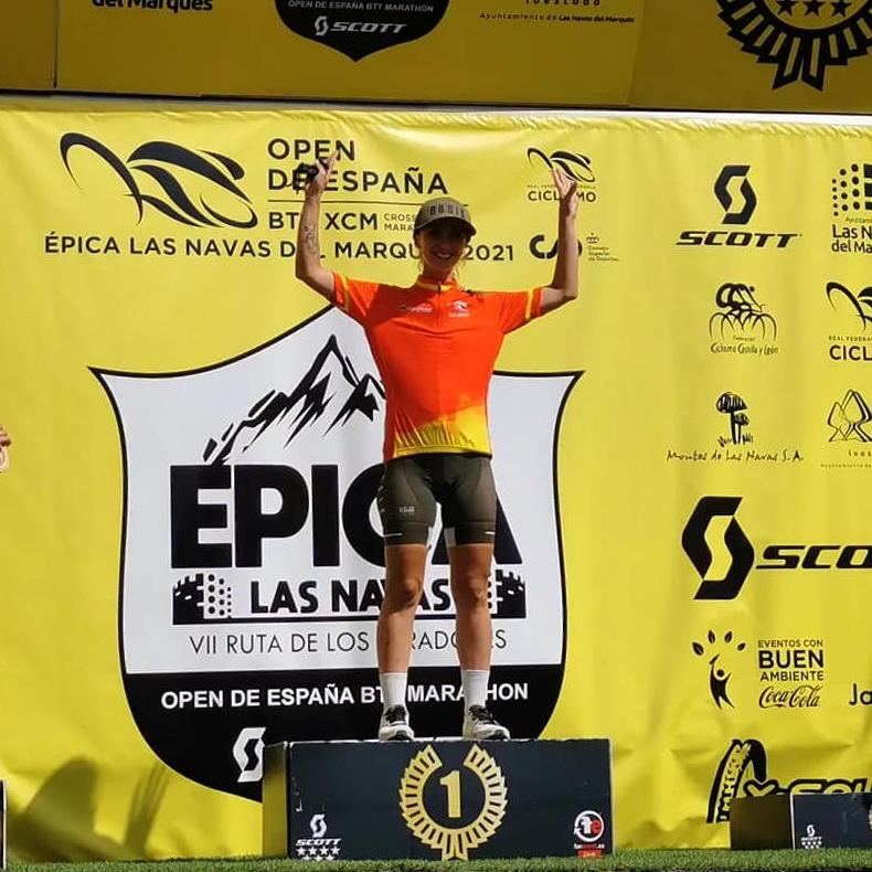 Arantxa Salvadó guanya el campionat d'Espanya Open 2021