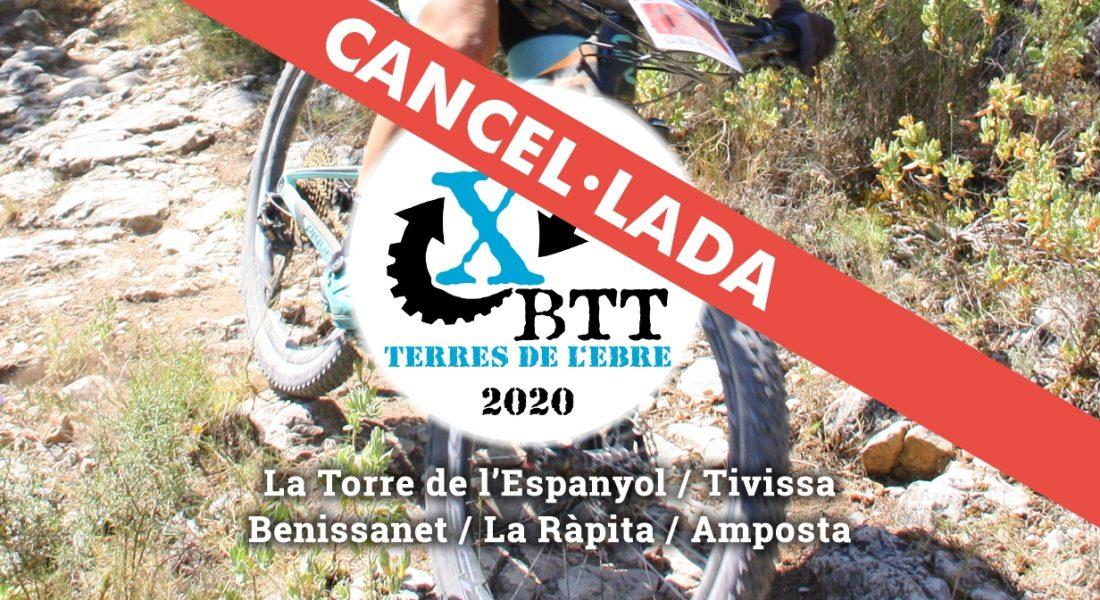Xallenger BTT Terres de l'Ebre 2020, cancel·lada
